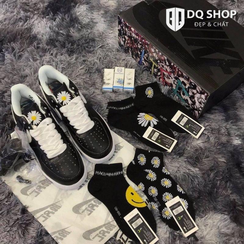 Giày Nike Air Force 1 G Dragon Para Noise Hoa Cúc Rep™ 1:1 Đẹp & Chất