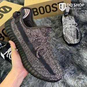 Giày Adidas Yeezy 350 V2 Black Reflective Nam Nữ Rep™ 1:1 Đẹp & Chất