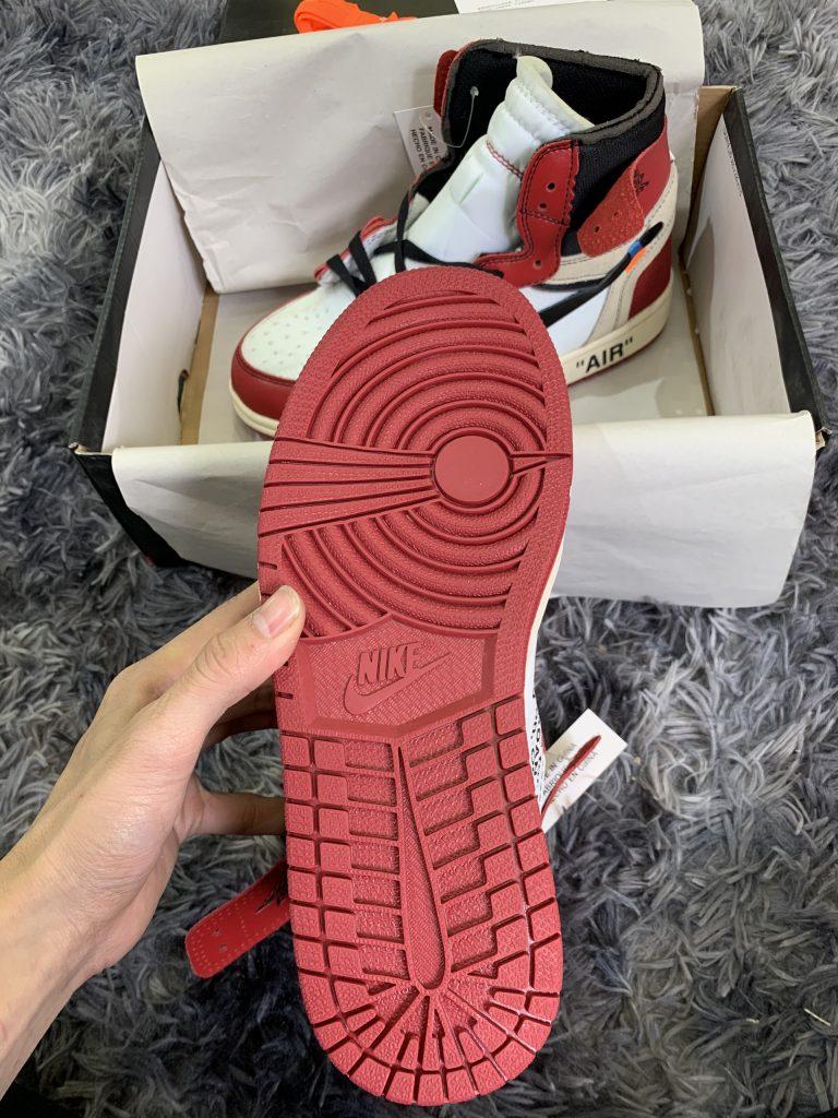 Giày Nike Air Jordan 1 Off White Chicago Replica 1:1 Đẹp & Chất.