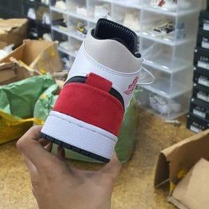 Giày Nike Air Jordan 1 Mid SE Union Black Toe Rep 1 1 đẹp & Chất