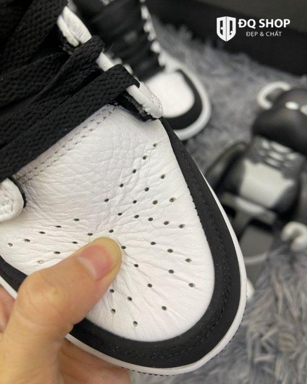 Giày Nike Air Jordan 1 mid tuxedo Trắng Đen Rep 11 Đẹp & Chất (5)